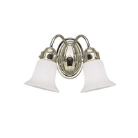 Signature 2 Light 14 inch Chrome Bath Vanity Wall Light