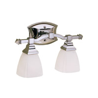 Kichler Lighting Sections 2 Light Bath Vanity in Chrome 6203CH photo thumbnail
