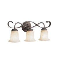 Kichler Lighting High Country 3 Light Bath Vanity in Old Iron 6371OI photo thumbnail