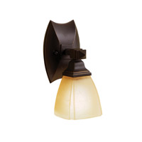 Kichler Lighting Sections 1 Light Bath Vanity in Olde Bronze 6406OZ photo thumbnail