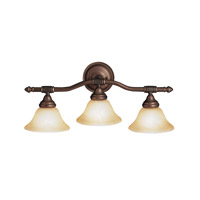 Kichler Lighting Broadview 3 Light Bath Vanity in Olde Bronze 6493OZ