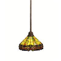 Kichler Lighting Phoenix 1 Light Mini Pendant in Bronze 65098