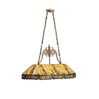 Kichler Lighting Phoenix 3 Light Island Light in Dore Bronze 65101