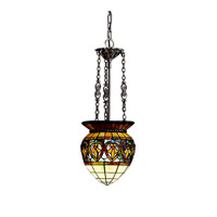 Kichler Lighting Provencia 1 Light Inverted Pendant in Bronze 65134 photo thumbnail