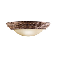 Kichler Lighting Larissa 2 Light Wall Sconce in Tannery Bronze w/ Gold Accent 6513TZG
