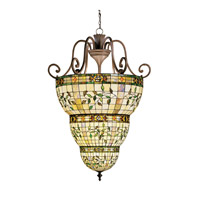 Kichler Lighting Elegante 12 Light Foyer Chain Hung in Bronze 65144 photo thumbnail
