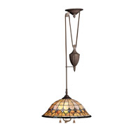 Kichler Lighting Artaxerxes 3 Light Pendant in Bronze 65168 photo thumbnail