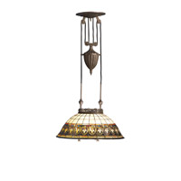 Kichler Lighting Provencia 3 Light Pendant in Bronze 65170 photo thumbnail