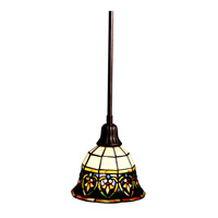 Kichler Lighting Provencia 1 Light Mini Pendant in Bronze 65185 photo thumbnail