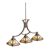 Kichler Lighting Sonora 3 Light Island Light in Bronze 65197 photo thumbnail
