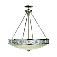 Kichler Lighting Montrose 3 Light Pendant in Brushed Nickel 65239