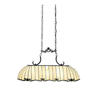 Kichler Lighting Clarice 3 Light Island Light in Tannery Bronze w/ Gold Accent 65242