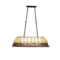 Kichler Lighting Dunsmuir 3 Light Island Light in Tannery Bronze w/ Gold Accent 65244
