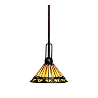 Kichler Lighting Yakima 1 Light Mini Pendant in Tannery Bronze 65271 photo thumbnail