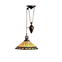 Kichler Lighting Yakima 1 Light Pendant in Tannery Bronze 65273 photo thumbnail