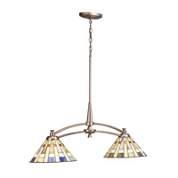 Kichler Lighting Seymor 2 Light Island Light in Cashmere 65275