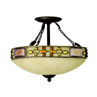 Kichler Lighting Joya 3 Light Semi-Flush in Olde Bronze 65291 photo thumbnail