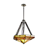 Kichler Lighting Tacoma 3 Light Inverted Pendant in Olde Bronze 65319 photo thumbnail