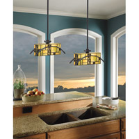 Kichler Lighting Bayonne 1 Light Mini Pendant in Satin Black 65327