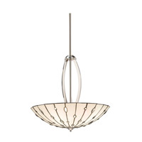 Kichler Lighting Cloudburst 4 Light Inverted Pendant in Polished Nickel 65332