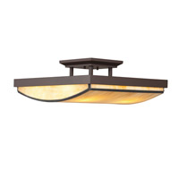 Kichler Lighting Riverview 4 Light Semi-Flush in Olde Bronze 65339 photo thumbnail