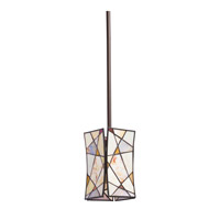 Kichler Lighting Signature 1 Light Mini Pendant in Olde Bronze 65359