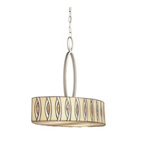 Kichler Lighting Signature 4 Light Inverted Pendant in Brushed Nickel 65360