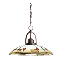 Kichler Lighting Deveron 1 Light Pendant in Olde Bronze 65368