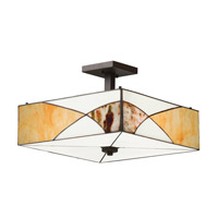 Kichler Lighting Elias 3 Light Convertible Pendant in Olde Bronze 65374