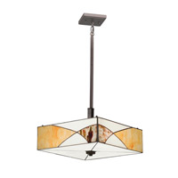 Kichler Lighting Elias 3 Light Convertible Pendant in Olde Bronze 65374 photo thumbnail