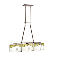 Kichler 65378 Bayberry 3 Light 33 inch Olde Bronze Linear Chandelier Ceiling Light