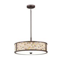 Kichler Lighting Blythe 5 Light Convertible Pendant in Olde Bronze 65381