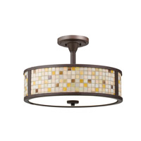 Kichler Lighting Blythe 3 Light Convertible Pendant in Olde Bronze 65382 alternative photo thumbnail