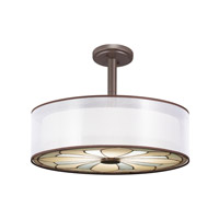 Kichler Lighting Louisa 4 Light Convertible Pendant in Olde Bronze 65387 alternative photo thumbnail