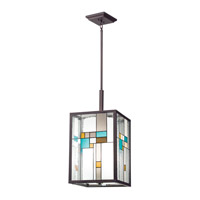 Kichler Lighting Caywood 4 Light Foyer Chandelier in Olde Bronze 65391 photo thumbnail