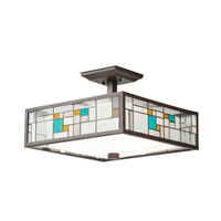 Kichler Lighting Caywood 3 Light Convertible Pendant in Olde Bronze 65393 alternative photo thumbnail