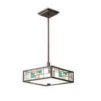 Kichler Lighting Caywood 3 Light Convertible Pendant in Olde Bronze 65393 photo thumbnail
