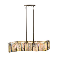 Kichler Lighting Marisa 5 Light Single Linear Chandelier in Shadow Bronze 65397
