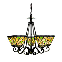 Kichler Lighting Woodbury 5 Light Chandelier in Oiled Bronze 66046