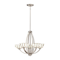 Kichler Lighting Cloudburst 5 Light Chandelier in Polished Nickel 66057 photo thumbnail