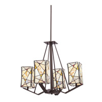 Kichler Lighting Signature 4 Light Chandelier in Olde Bronze 66059 photo thumbnail