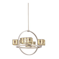 Kichler Lighting Pluto 4 Light Chandelier in Brushed Nickel 66060