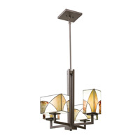 Kichler Lighting Elias 4 Light Chandelier in Olde Bronze 66073 photo thumbnail