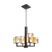 Kichler Lighting Elias 4 Light Chandelier in Olde Bronze 66073 alternative photo thumbnail