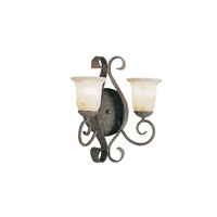 Kichler Lighting High Country 2 Light Wall Sconce in Old Iron 6608OI photo thumbnail
