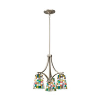 Kichler Lighting Confetti 3 Light Chandelier in Brushed Nickel 66138