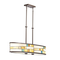 Kichler Lighting Mihaela 4 Light Chandelier in Shadow Bronze 66144 photo thumbnail