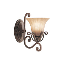 Kichler Lighting Cottage Grove 1 Light Wall Sconce in Carre Bronze 6857CZ