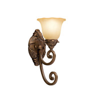 Kichler Lighting Cheswick 1 Light Wall Sconce in Parisian Bronze 6898PRZ photo thumbnail
