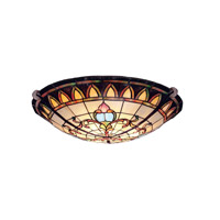 kichler-lighting-art-glass-semi-flush-mount-69041